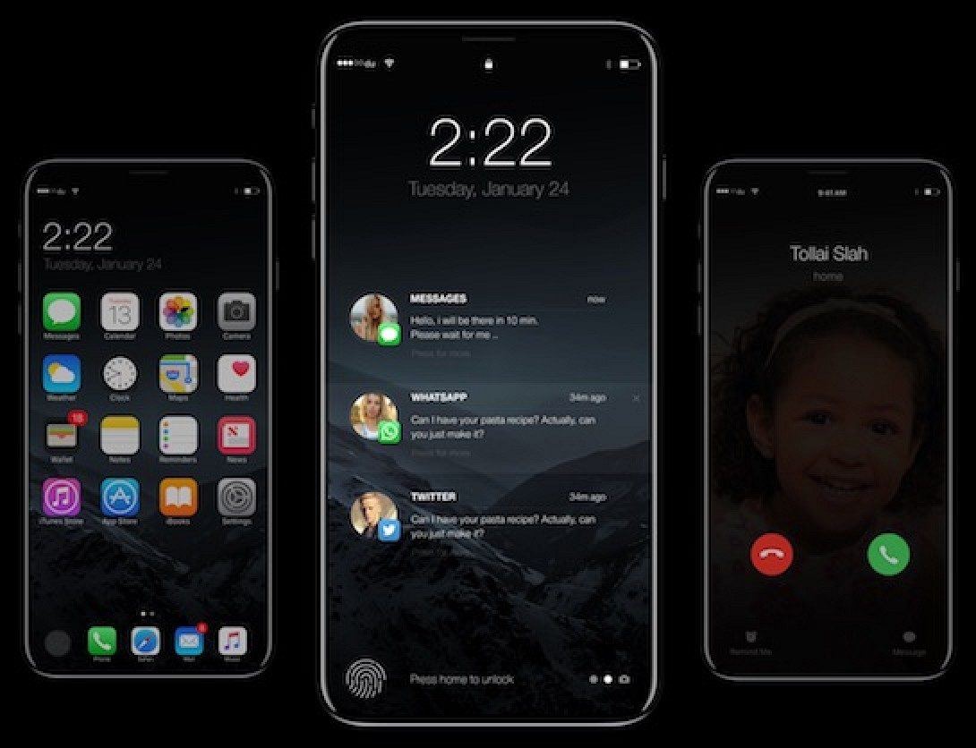 Photo Image IPhone 8 Said To Have Separate Wireless Charger No Headphone Jack Adapter Or