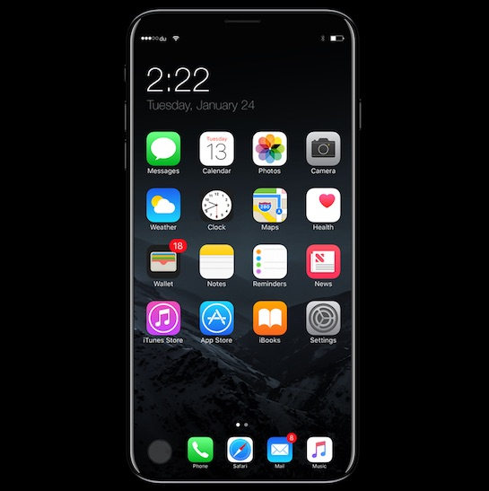 IPhone 8 Concept By Visual Designer Moe Slah The Report Citing Reliable Sources Within Apples Supply Chain Insists That Only OLED Model Will Adopt