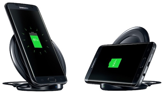 Samsungs Wireless Charging Stand For The Latest Galaxy Smartphones If Report Is Accurate It Would Mean Apples Next IPhones Will Not Have Truly
