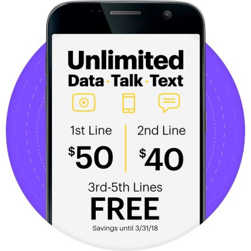 50 monthly unlimited plan smartphone