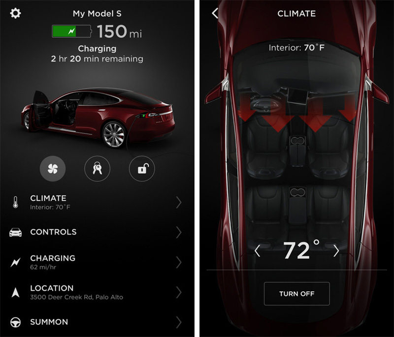 Tesla Model 3 Wallpaper Iphone: Tesla Releases Completely Redesigned IPhone App With Touch
