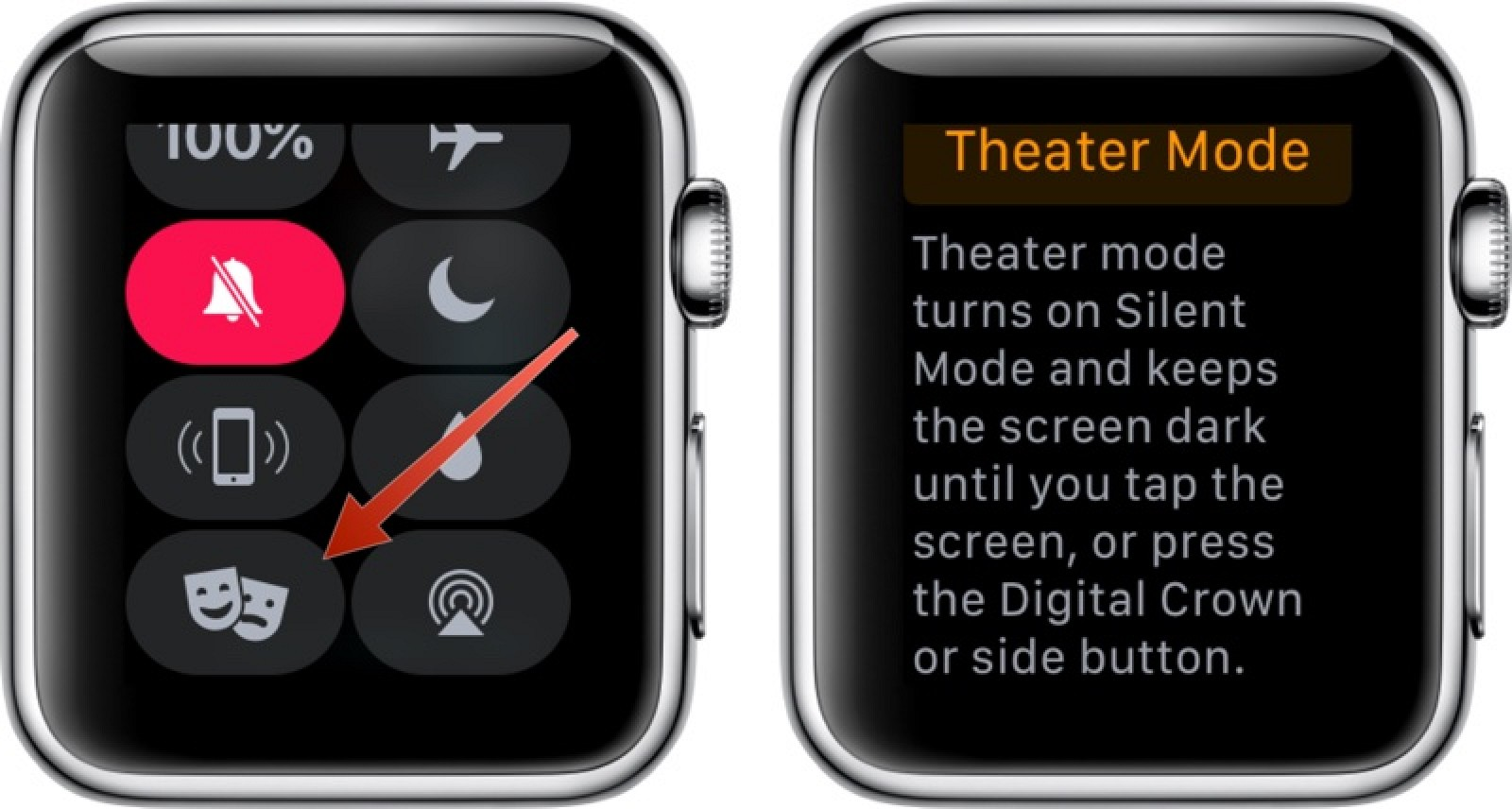 How to Use Theater Mode on the Apple Watch - MacRumors