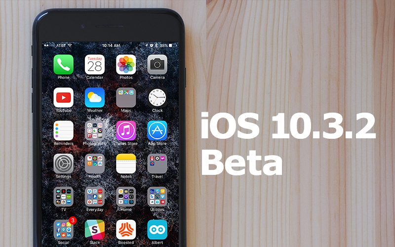 Apple vydal 5. betu iOS 10.3.2