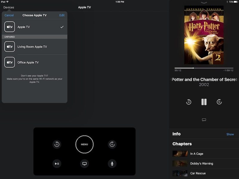 how to play ipad over apple tv