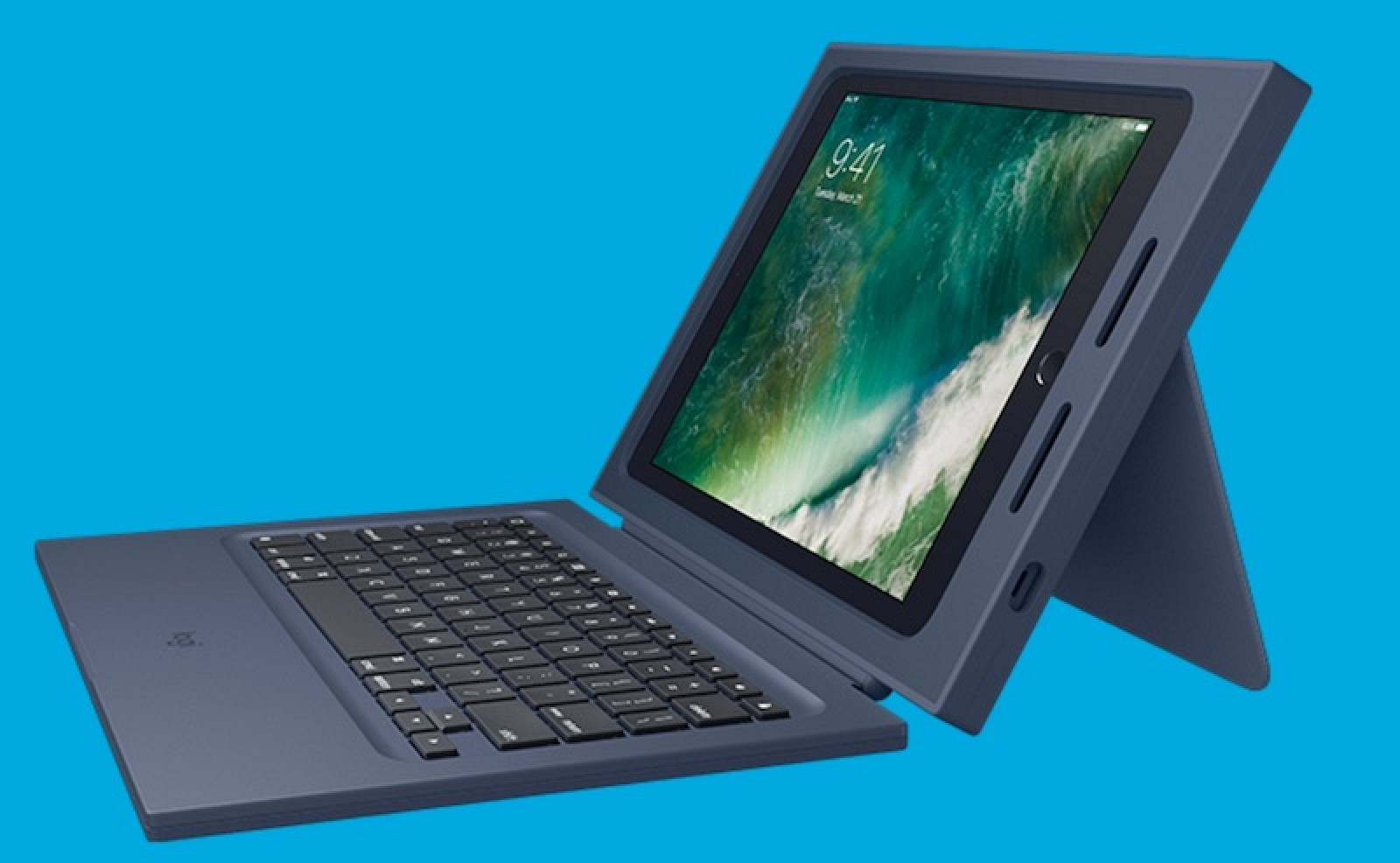 new style e39b1 45e08 Logitech Debuts Education-Focused 'Rugged Combo' Case for New 9.7 ...