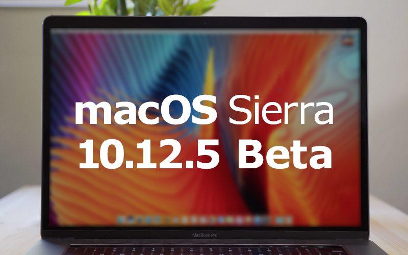 Apple vydal 5. betu macOS Sierra 10.12.5 pro vývojáře i veřejnost