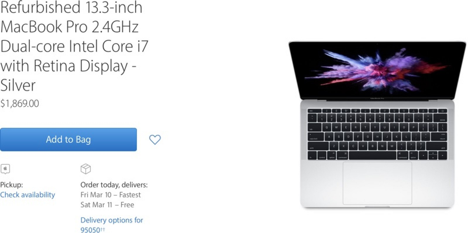 apple adds 2016 macbook pro without touch bar to refurbished store  updated