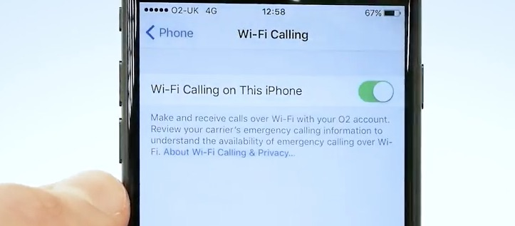 what is wifi calling