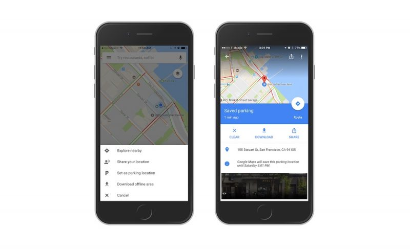 Google Maps Now Remembers Where You Parked Your Car - MacRumors on