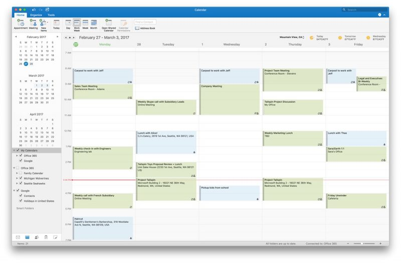 Microsoft Invites Mac Users to Preview Google Calendar Support in ...