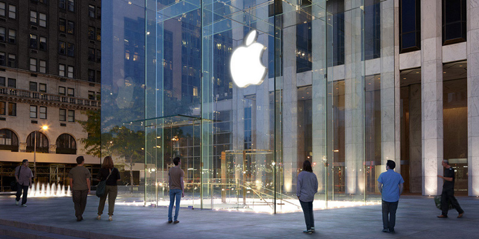 photo image Apple to Dismantle Iconic Glass Cube at Fifth Avenue Store
