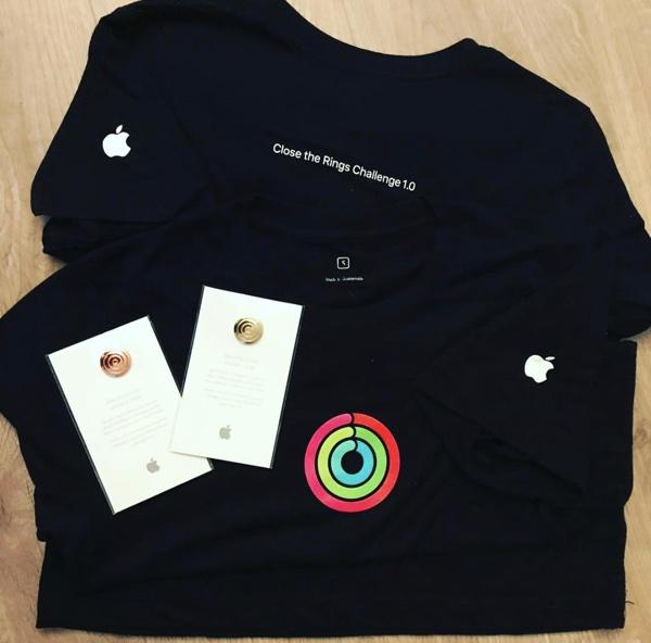 Apple uspořádal pro zaměstnance Close the Rings Challenge