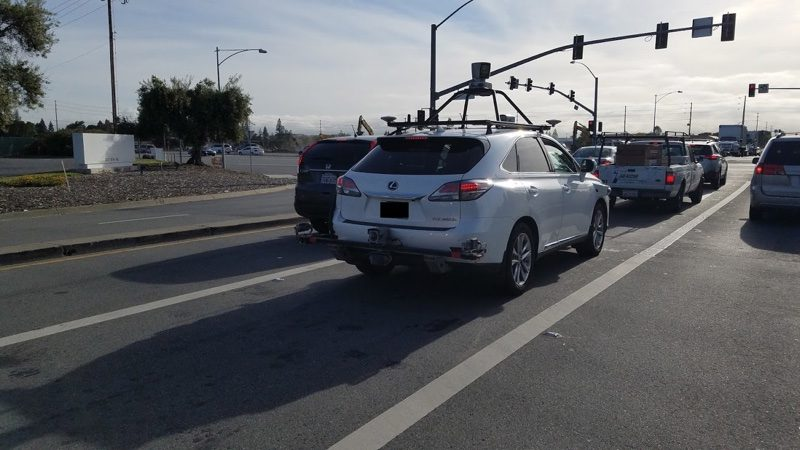 Lexus SUV Being Used for Apple's Self-Driving Software Test