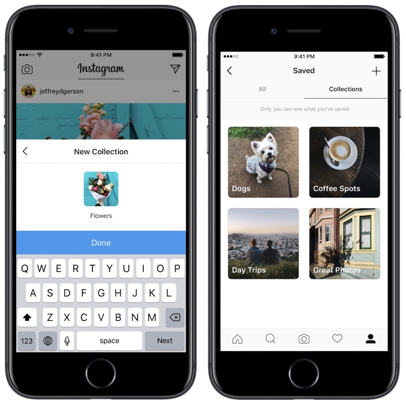 how do you save photos on instagram