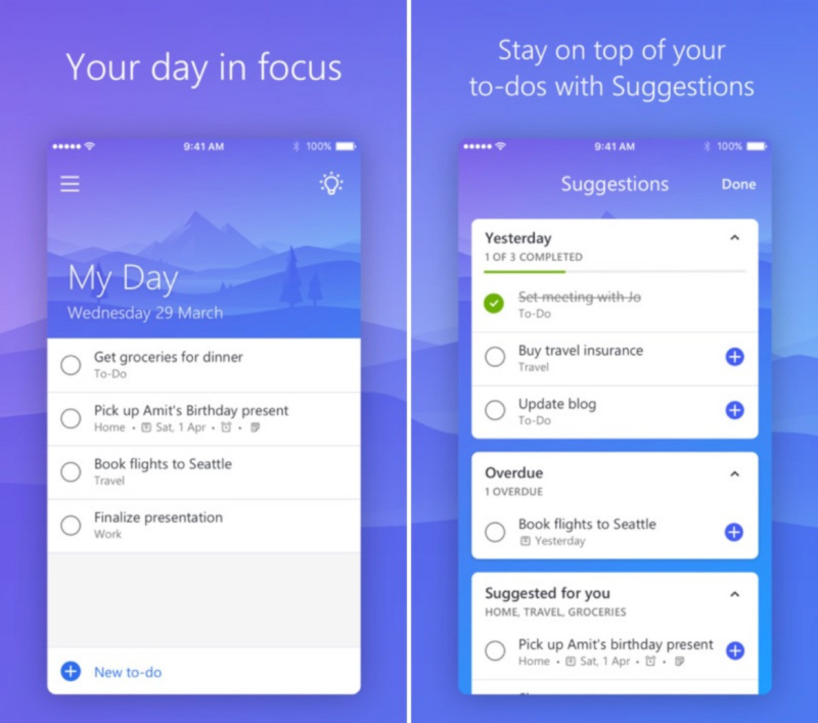 Microsoft Debuts New 'To-Do' Wunderlist Replacement - MacRumors