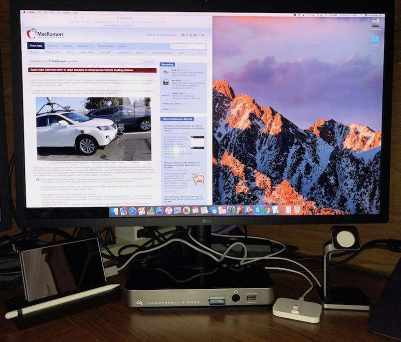 Review: OWC's Thunderbolt 3 Dock Gives Your MacBook Pro 13
