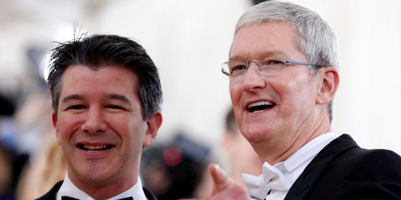 Tim Cook Threatened to Remove Uber From the App Store Over iPhone