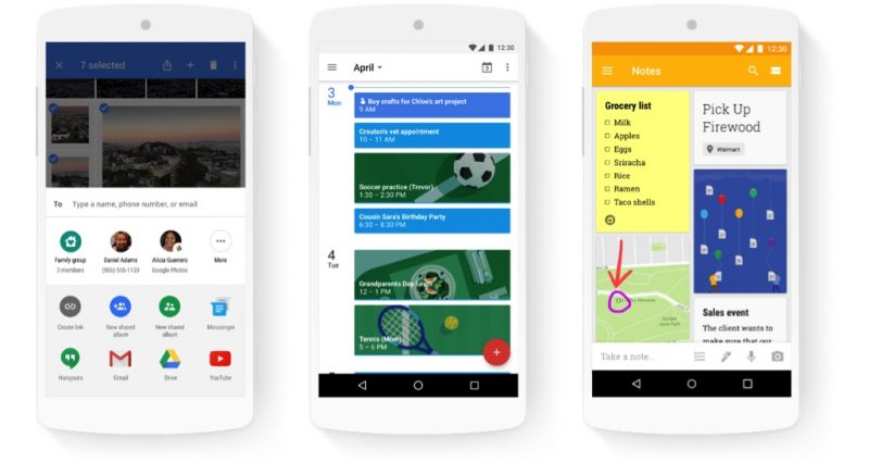 Google Adds New Family Sharing Features To Calendar Keep And