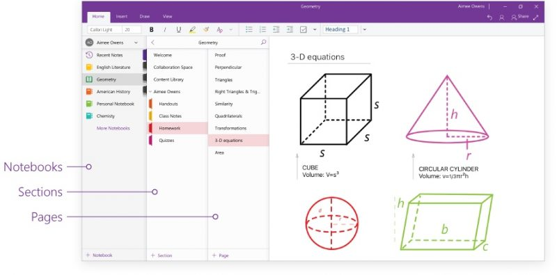Redesigned Version of Microsoft OneNote Now Available on Mac