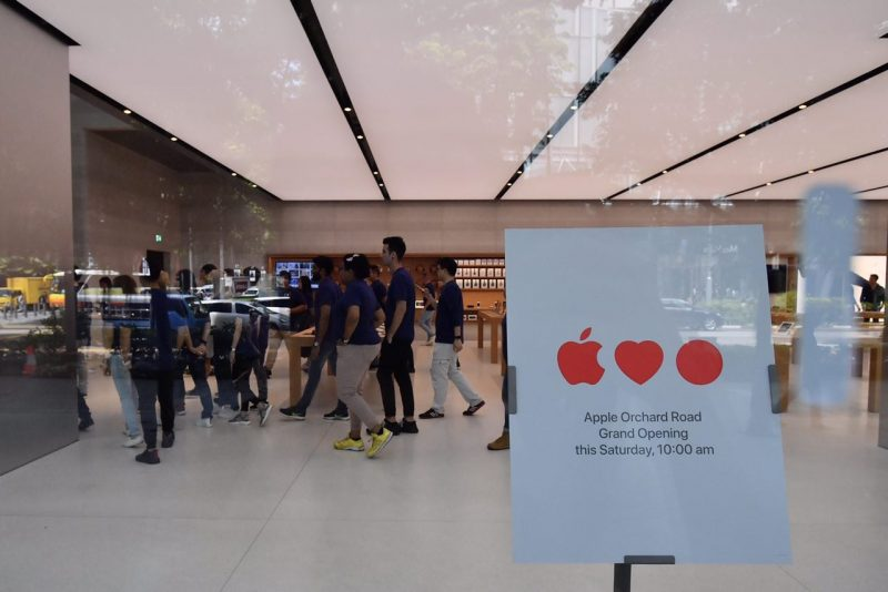 Interior Of 39 Apple Orchard Road 39 In Singapore Unveiled Ahead Of Grand Opening Macrumors
