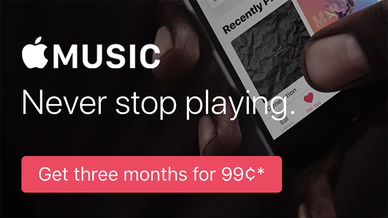 Apple Music's Three-Month Trial is No Longer Free in