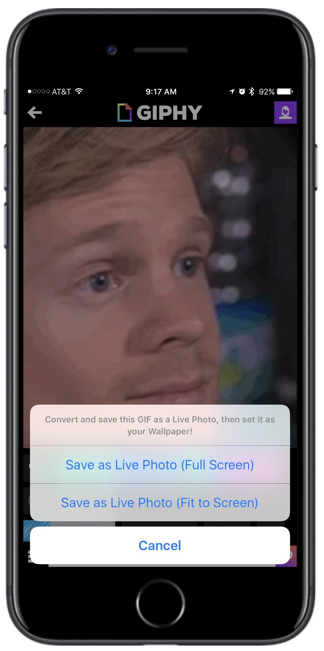 Giphy iOS App Gains Ability to Turn GIFs Into Live Photos