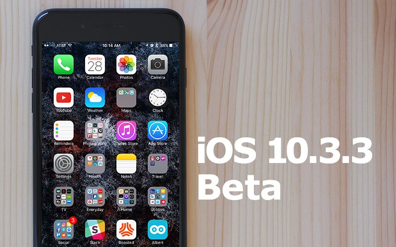 Apple Seeds Sixth Beta of iOS 10 3 3 to Developers and Public Beta