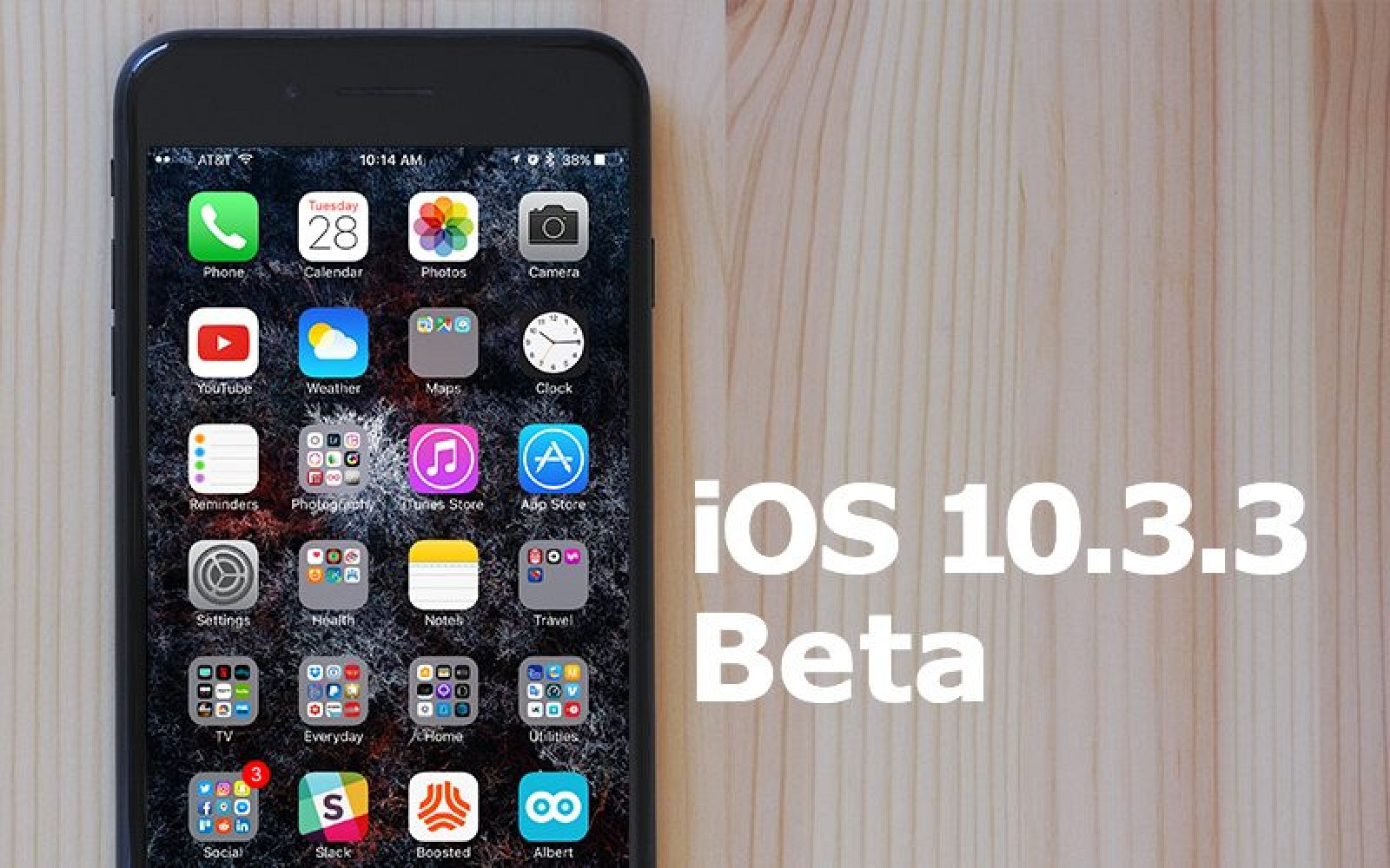 apple seeds third beta of ios 10 3 3 to developers update public beta available macrumors. Black Bedroom Furniture Sets. Home Design Ideas