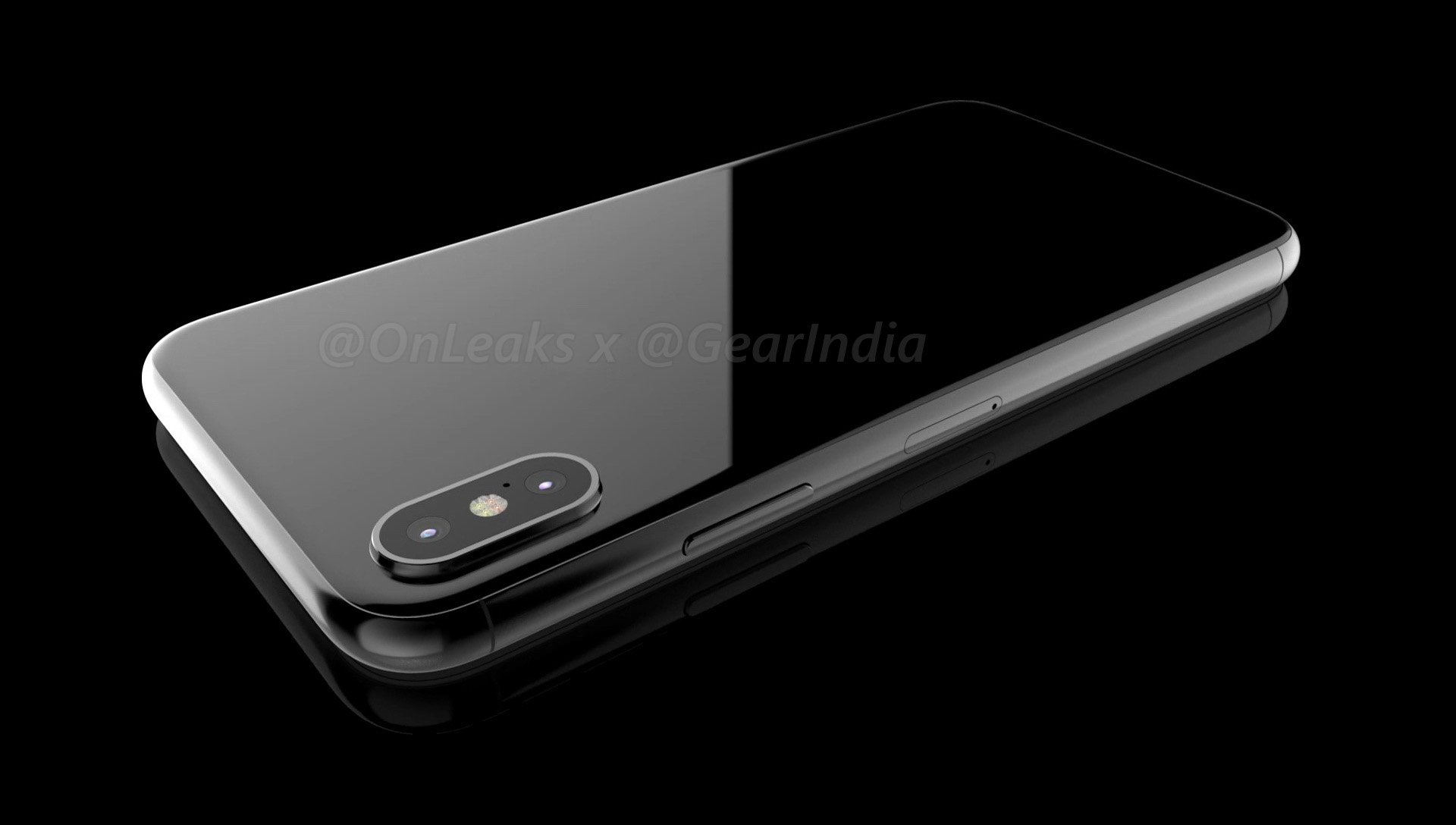 apple iphone 8 black. the site\u0027s sources have only seen a front display panel component in black, suggesting apple may release iphone 8 iphone black o
