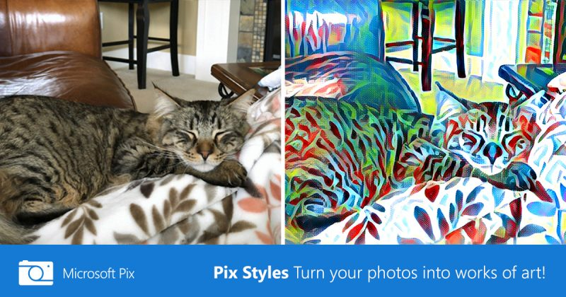 Microsoft Updates iOS Photo App 'Pix' With Artistic Filters