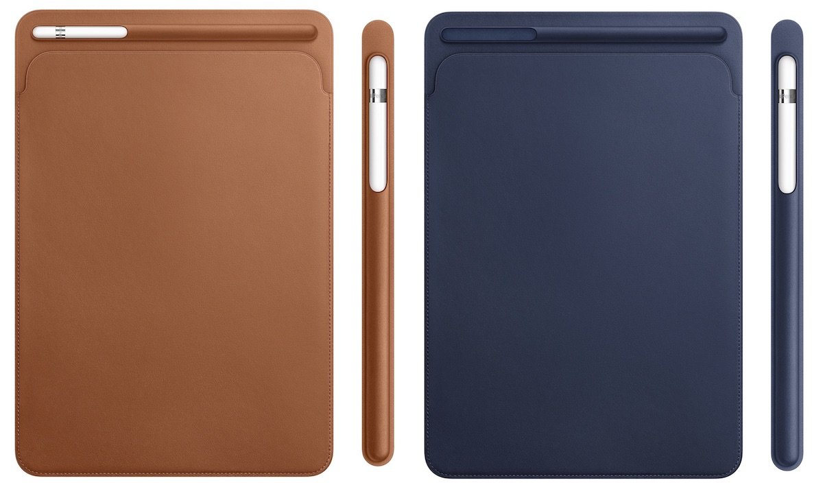 finest selection f8e49 e6121 10.5-Inch and 12.9-Inch iPad Pro Models Gain All-New Leather Sleeve ...