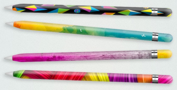 Apple pencil. You can now personalize