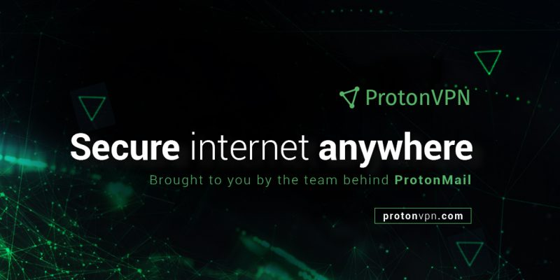Swiss Encrypted Email Provider Launches ProtonVPN With Free