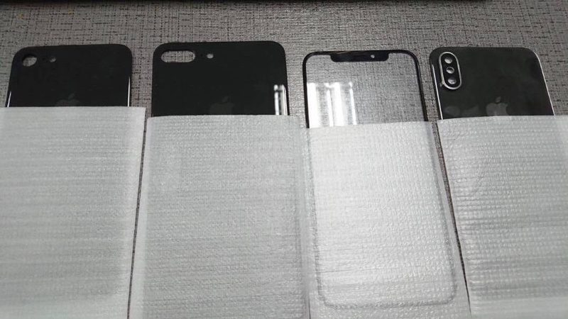 Unikly přední a zadní skla příštích iPhonů?