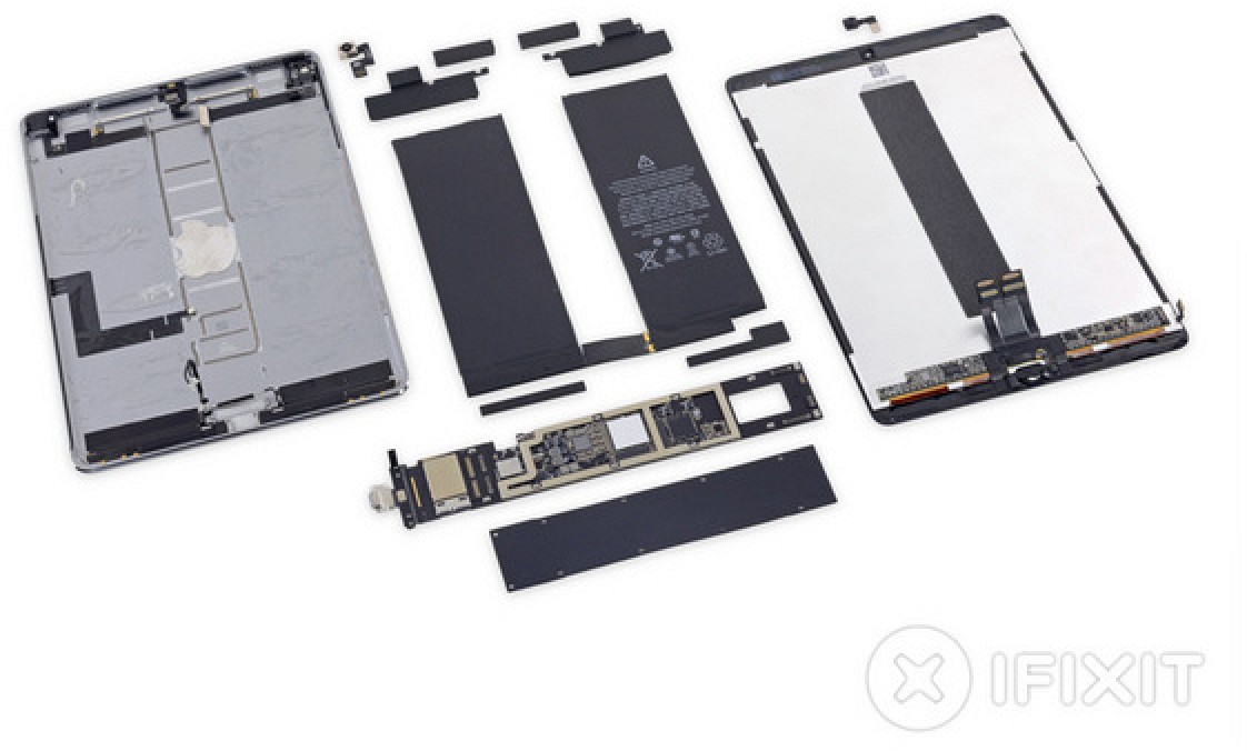 ifixit shares 10 5 inch ipad pro teardown macrumors. Black Bedroom Furniture Sets. Home Design Ideas