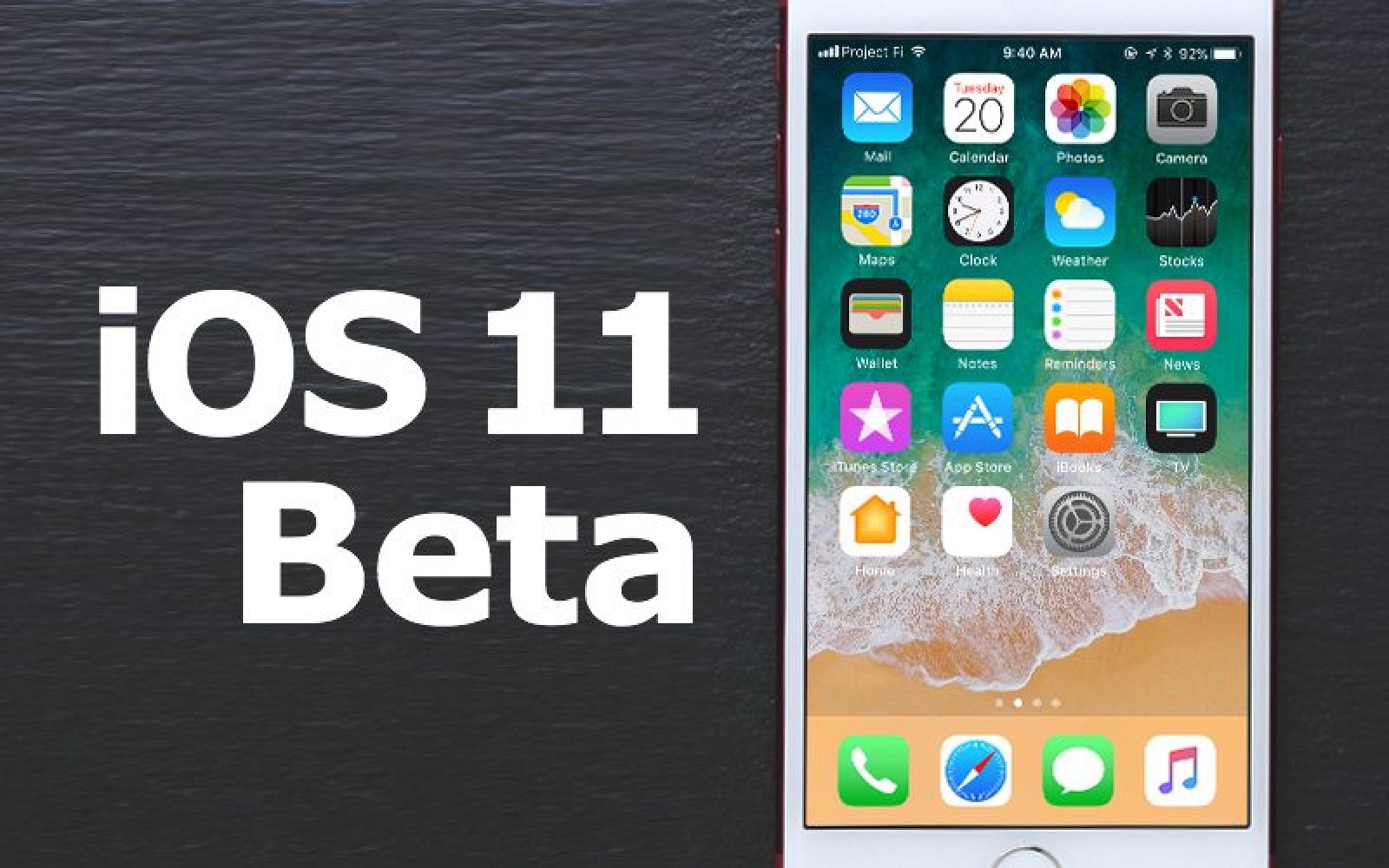 Apple Releases First Public Beta of iOS 11 to Public Beta Testers