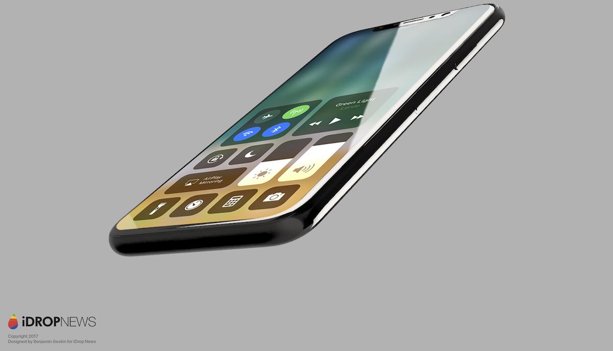 Takto by měl vypadat iPhone 8 s iOS 11