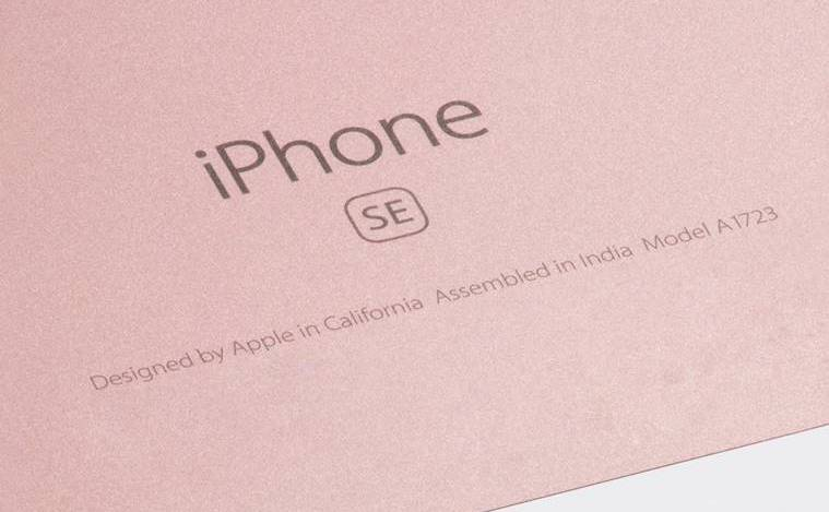 First Run of 'Assembled in India' iPhone SE Models Appear ...