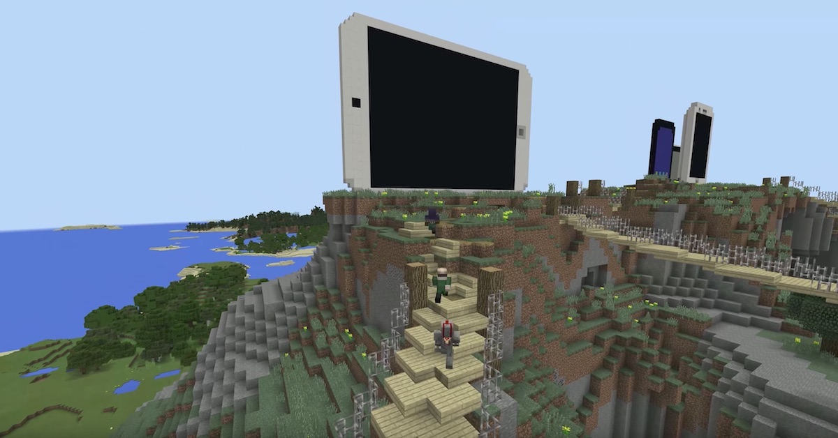 Minecraft On IOS Gaining CrossPlatform Play With Android Xbox One - Minecraft maps fur mac