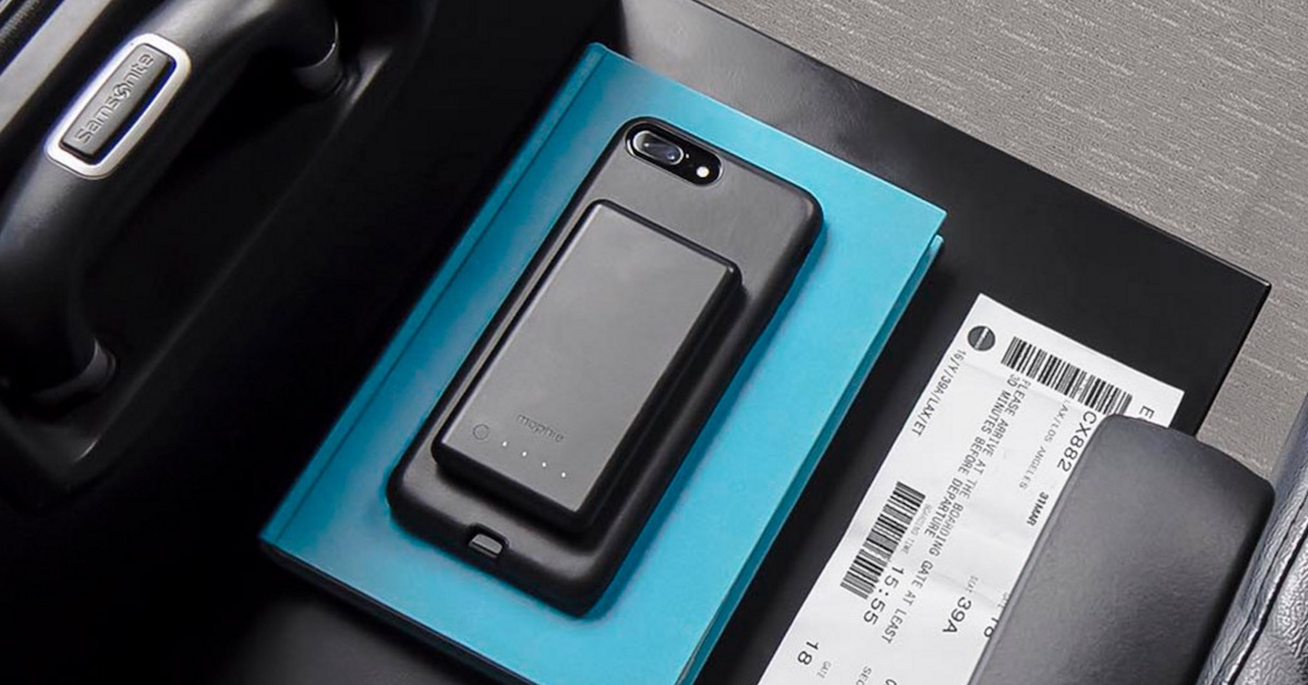new arrival 065e4 37992 Mophie Launches Charge Force Cases for iPhone 7/7 Plus, Along With ...