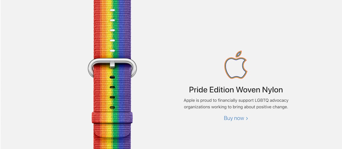31df3f288dfe Apple Confirms Sales of Apple Watch Pride Edition Band Will Support ...