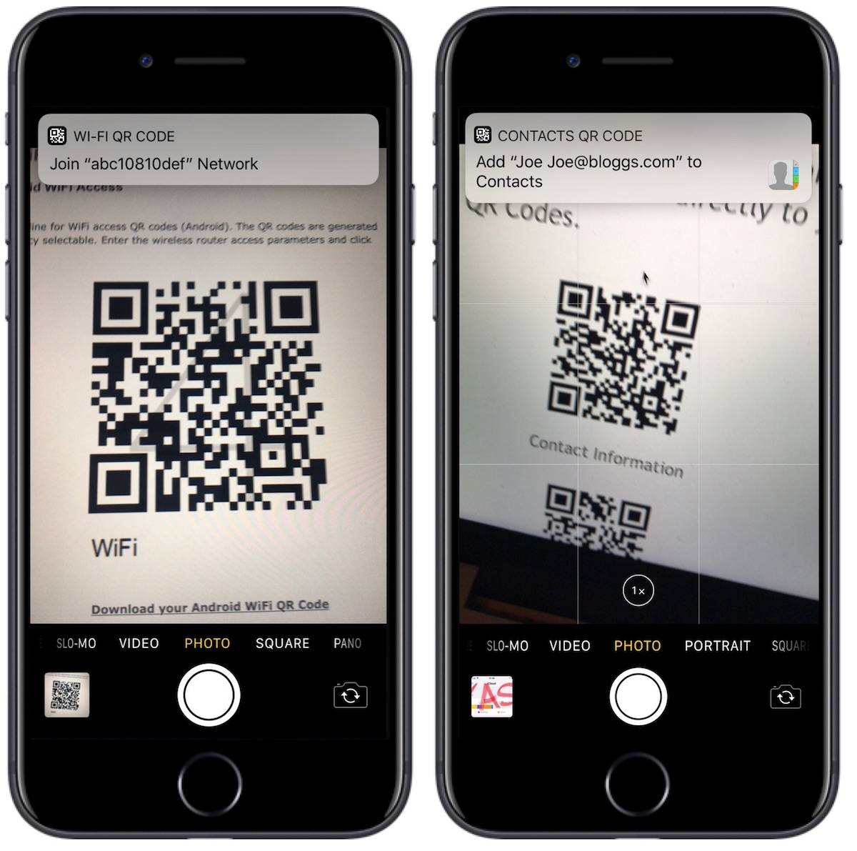iphone scan qr code iphone can scan qr codes directly in app on ios 11 15419