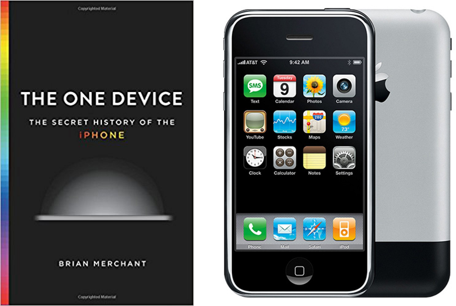 'the One Device' Book Covering 'secret History' Of Iphone Available June 20   Mac Rumors