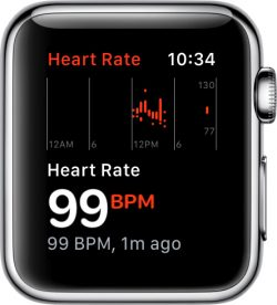 Watchos 4 everything we know macrumors the heart rate app has also been updated to display resting heart rate average walking heart rate and recovery rate after exercising all new features fandeluxe Choice Image