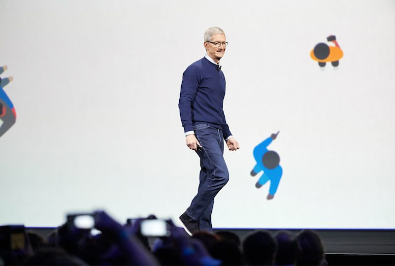 tim cook at apples worldwide developers conference in june there are plenty of reasons why cook could be in austin which has become a major tech hub in