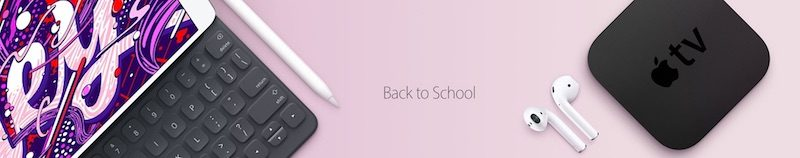 Apple's Education Store is Down, Back to School Promotion Incoming