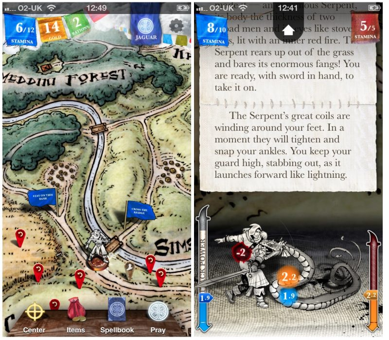 Steve jacksons sorcery fantasy role player is a free download on the fully interactive story allows players to make thousands of possible choices as they plot their journey across a hand drawn 3d world map gumiabroncs Images