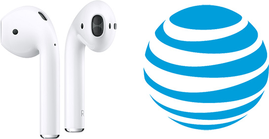 4f9d0fa7df1 AT&T sells AirPods for $159, the same price as Apple charges, but the  carrier only ships to addresses within the United States, excluding P.O.  boxes.