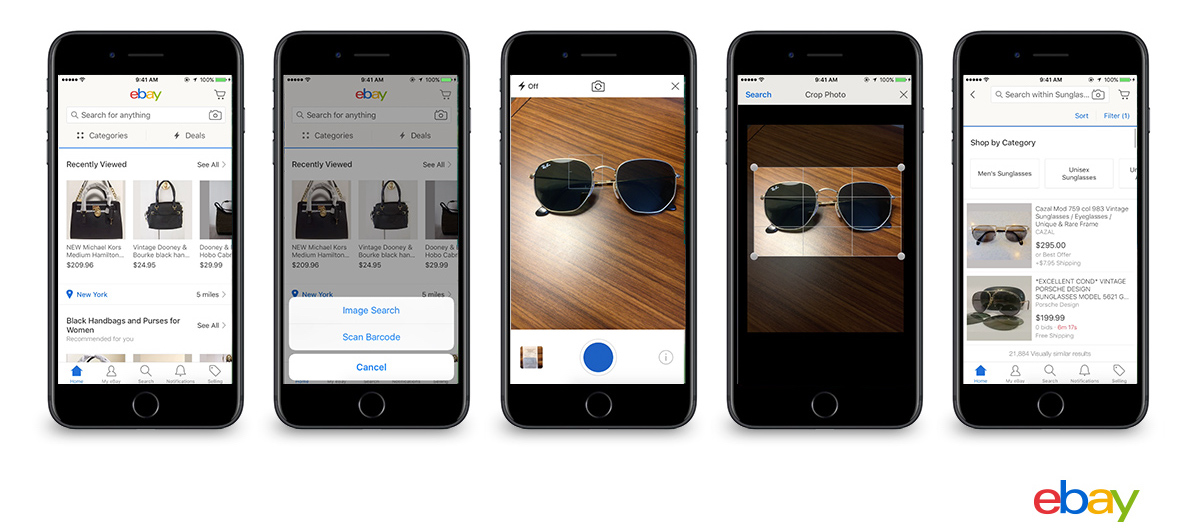 eBay Announces Image Search Feature Coming to iOS App This