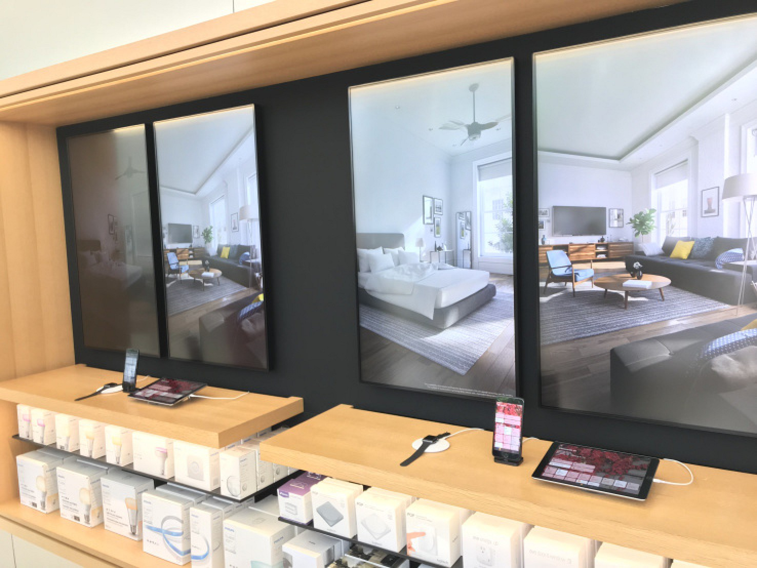 you can now try homekit at dozens of apple stores around the world mac rumors. Black Bedroom Furniture Sets. Home Design Ideas